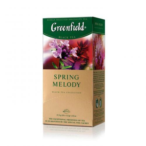 Чай Greenfield Spring Melody черный с чабрецом 25 пак